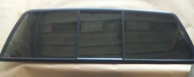 Dodge Rear Slider 3 piece manual, encapsulated gray privacy tinted glass, new