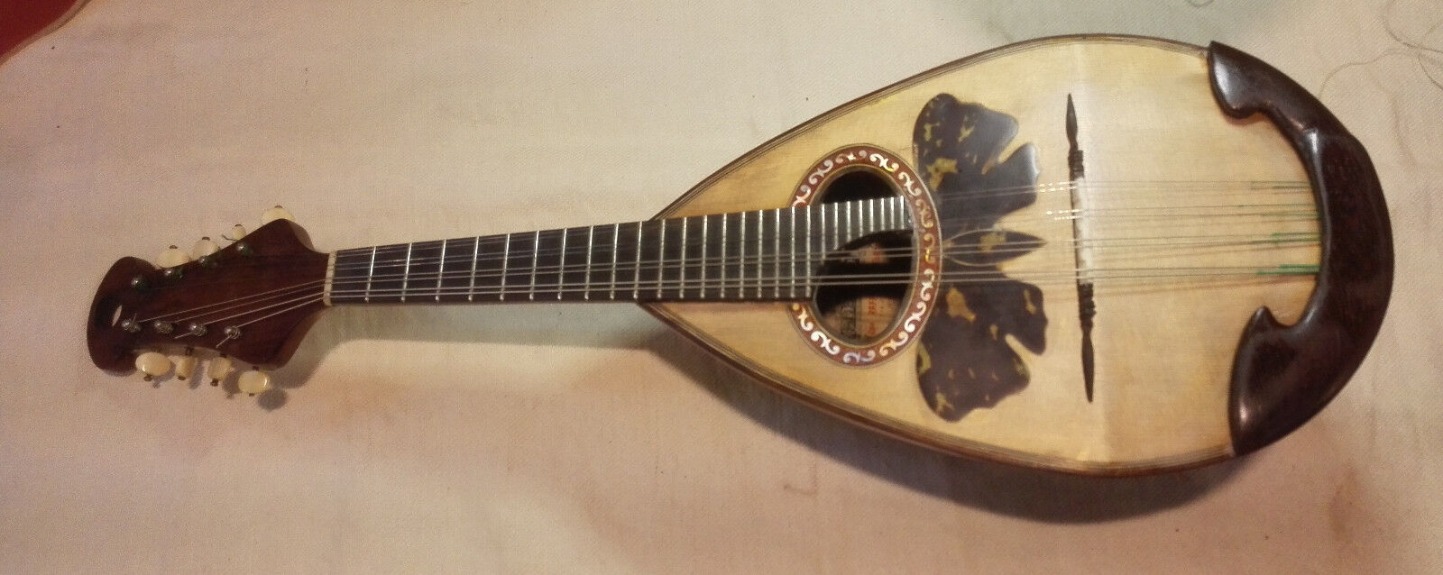 Mandolino Calace 1911   with video file sound