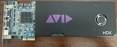 Avid HDX PCIE Card incredibly powerful card in mint condition!