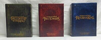 Lord of the Rings Trilogy Special Extended DVD Edition