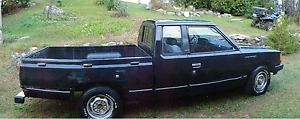 """Cruise with the King - 1983 """"DATSON"""" kingcab"""