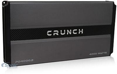 Crunch Power Drive 4000 Watt RMS 2 Channel AB Car Audio Power Amplifier PD4000.2 comprar usado  Enviando para Brazil
