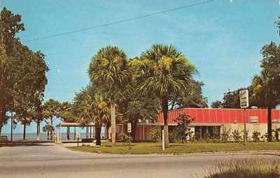 Eustis Florida Community Center And Chamber Of Commerce Vintage Pc Z40327