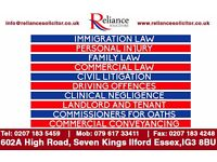Reliance Solicitors | Immigration-Personal Injury-Family-Commercial-Civil-Landlord&Tenant