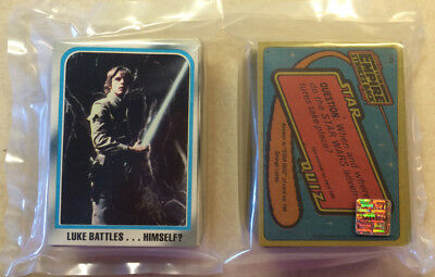 Topps Star Wars Empire Strikes Back - 50 Random ESB Trading Cards (1980) - Luke