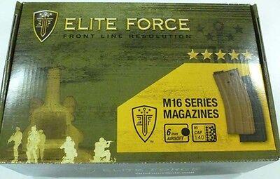 M16 Mid Cap (Umarex Elite Force M4 M16 140 Round Mid Cap Airsoft AEG Magazine 10 Pack New BLK )