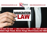 RELIANCE SOLICITORS SPECIALISE IN IMMIGRATION PERSONAL INJURY FAMILY COMMERCIAL CIVIL EMPLOYMENT