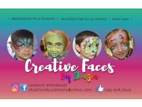 Face Painting painter for children's parties events weddings
