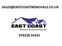 EAST COAST REMOVALS - Man+Van, DELIVERIES, Storage, REMOVALS, CLEARANCE
