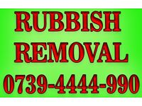 GREEN WASTE ALL RUBBISH REMOVAL GARDEN WASTE COLLECTION 0739-4444-990