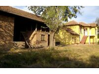 Bulgarian House Farm Property with Huge Outbuilding and 1500m2 Land Veliko Turnovo District