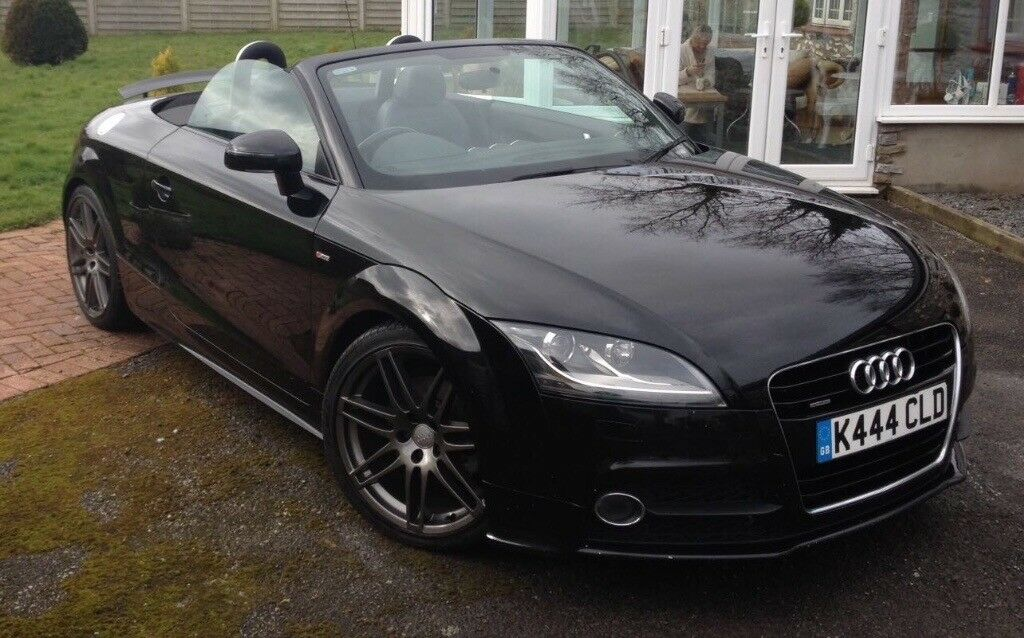 stunning 2010 60 audi tt convertible black edition 170 quattro in llanelli. Black Bedroom Furniture Sets. Home Design Ideas