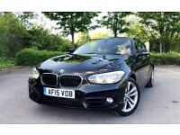 2015 BMW 1 SERIES 120D SPORT 37K MILES 2.0 DIESEL SAT NAV £30 TAX LATEST SHAPE 188 BHP