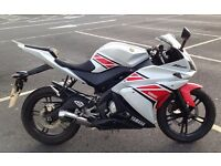 2012 Yamaha YZF R125 (Rare Colour, Scorpion Exhaust, Low Mileage)