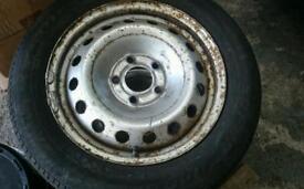 Vauxhall vivaro renault traffic spare wheel