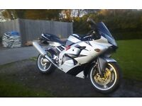 Kawasaki zx6r 600cc motorbike 29000 miles, mot, good reliable bike. no offers priced to sell.