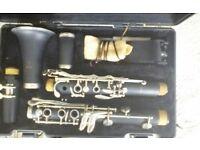 Clarinet, Artley. Suitable for beginner.