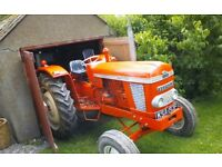 For sale our Nuffield 4/65 tractor, 1968.