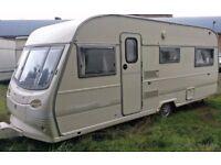 1994 Avondale Leda GXL Malvern 6 berth Cris registered caravan with awning