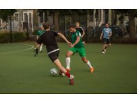 FOOTBALL TEAM IN HACKNEY CENTRAL 5 A-SIDE TEAM SEEKS PLAYERS