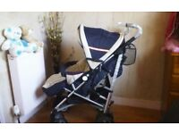 BRAND NEW PUSHCHAIR, FROM 0 TO 3 YRS, + FOOTMUFF, CHESTPADS & RAINCOVER **FREE DELIVERY HULL**
