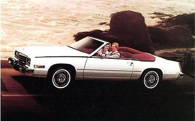 - Old Print. 1984 Cadillac Eldorado Biarritz Convertible Auto Ad