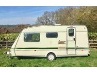 Elddis Shamal XL 4 Birth Caravan