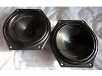 Tannoy 'Sixes' 605 Speaker Drivers (Pair)