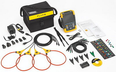 Fluke 435-ii Series Ii Power Quality Energy Analyzer Brand New