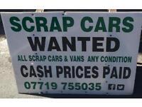 Scrap CARZ wanted