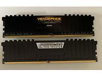 Corsair 16 GB DDR4 2400 MHz RAM (2 x 8 GB)