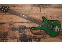 Warwick Corvette FNA Jazzman Bass - Green