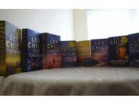 Selection of Lee Child Novels