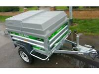 Daxara 158 galvanised camping trailer with abs lockable cover
