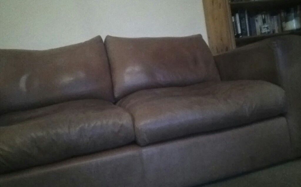 2 seater leather sofa from sofa worksop
