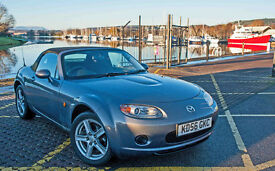 Mazda MX5 cabriolet low mileage newly serviced ideal Xmas present