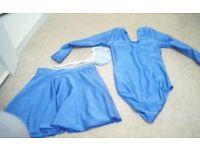 girls ballet leotard and skirt