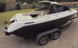 Sea Ray 200 with 4.3l V6 Mercruiser on a trailer For Sale