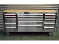 Maranello Stainless Steel Tool Chest