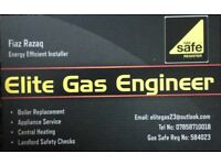 Elite Gas Engineer Ltd - cover all aspects of heating, gas work and plumbing