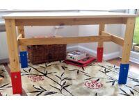 IKEA SANSAD ADJUSTABLE HEIGHT TABLE