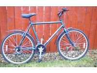 MENS DIAMONDBACK BIKE + MUDGUARDS, LIGHTS & LOCK/2 KEYS **FREE DELIVERY HULL**