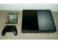 Xbox one 500gb with Gta 5
