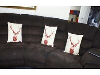 Large four seater suite..