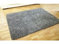 Charcoal rug perfect condition not long new £25