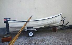 12' fibreglass boat