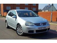 2007 Volkswagen Golf 1.9 TDI Match 5dr **F/S/H+CAMBELT DONE+IMMACULATE**