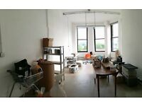 Beautiful studio space in Merchant city to rent/share with 2 other creatives