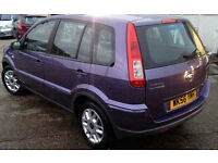 AUTOMATIC FORD FUSION ZETEC 1.6 2006 . ONLY 29 K MILES.1 OWNER .LONG MOT.SUPERB DRIVE.CHEAPEST IN UK
