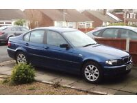 BMW 316i SE with 9 months MOT and extensive service history